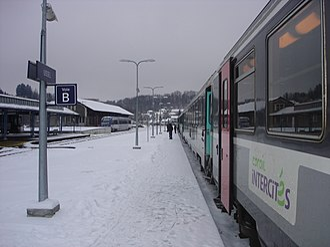 Gare d'Ussel - Image: Gare Ussel