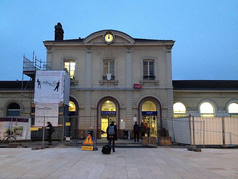 Gare de Bourg-en-Bresse.