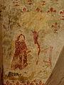 Gargilesse-Dampierre (36) Église Saint-Laurent et Notre-Dame Crypte Fresques 35.JPG
