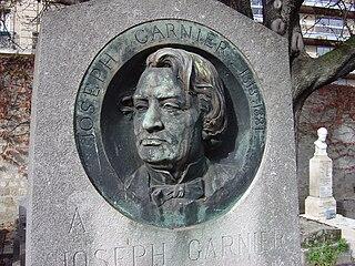 Joseph Garnier French economist and politician