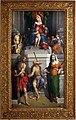Garofalo, madonna col bambino in trono, angeli e santi, 1533, 01.jpg