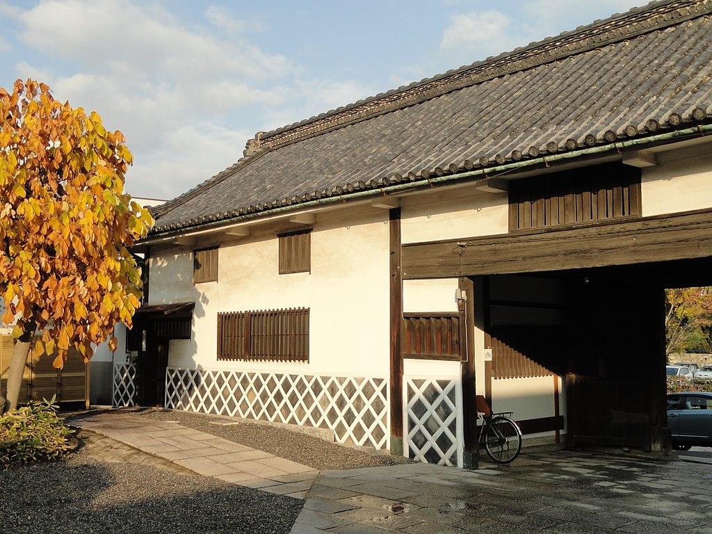 Gate - Hayashibara Museum of Art - DSC01773