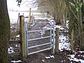 Gate beside Willerd's Hill Wood - geograph.org.uk - 1710178.jpg
