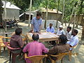 Gathering in a meeting of villagers in an Bangladeshi village 2015 33.jpg