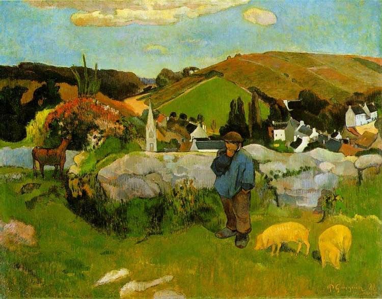 Gauguin.swineherd.750pix