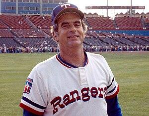 English: May 1977 photograph of Texas Rangers ...