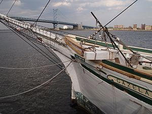 Gazela - Gazela docked at penns landing, pa