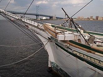 Gazela - Gazela docked at penns landing, pa