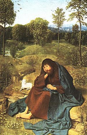 "Geertgen tot Sint Jans (15th century): ""John the Baptist"""