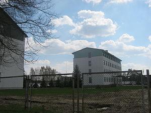 Rukla - Image: Geležinio vilko pastatai