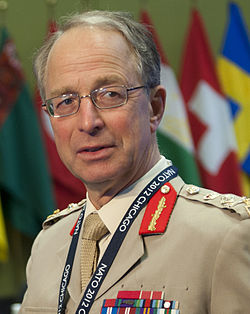 Le général David Richards en 2012.