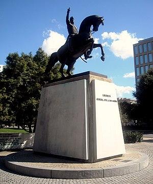 General Jose de San Martin Memorial - Image: General Jose de San Martin Memorial