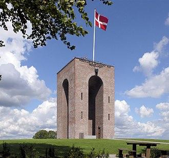 Ejer Bavnehøj - The tower of Ejer Bavnehøj