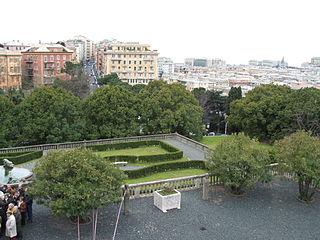 Genova Villa Bombrini Saluzzo Foto