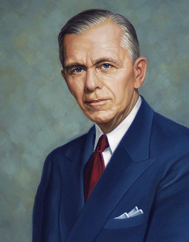 General George C. Marshall, 50 °Secretario de Estado de los Estados Unidos. Departamento de Estado de Estados Unidos