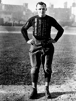 History of the Chicago Bears - George Halas as player-coach of the Chicago Bears during the 1922 season.