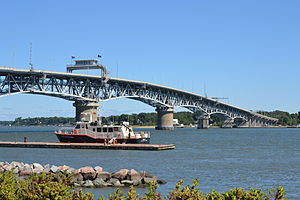 York River (Virginia) - The George P. Coleman Bridge