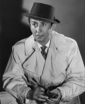 Charlie Wild, Private Detective (radio program) - George Petrie in character as Charlie Wild