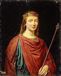 Georges Rouget (1783-1869) - Clovis III roi d'Austrasie en 691 (682-695).jpg
