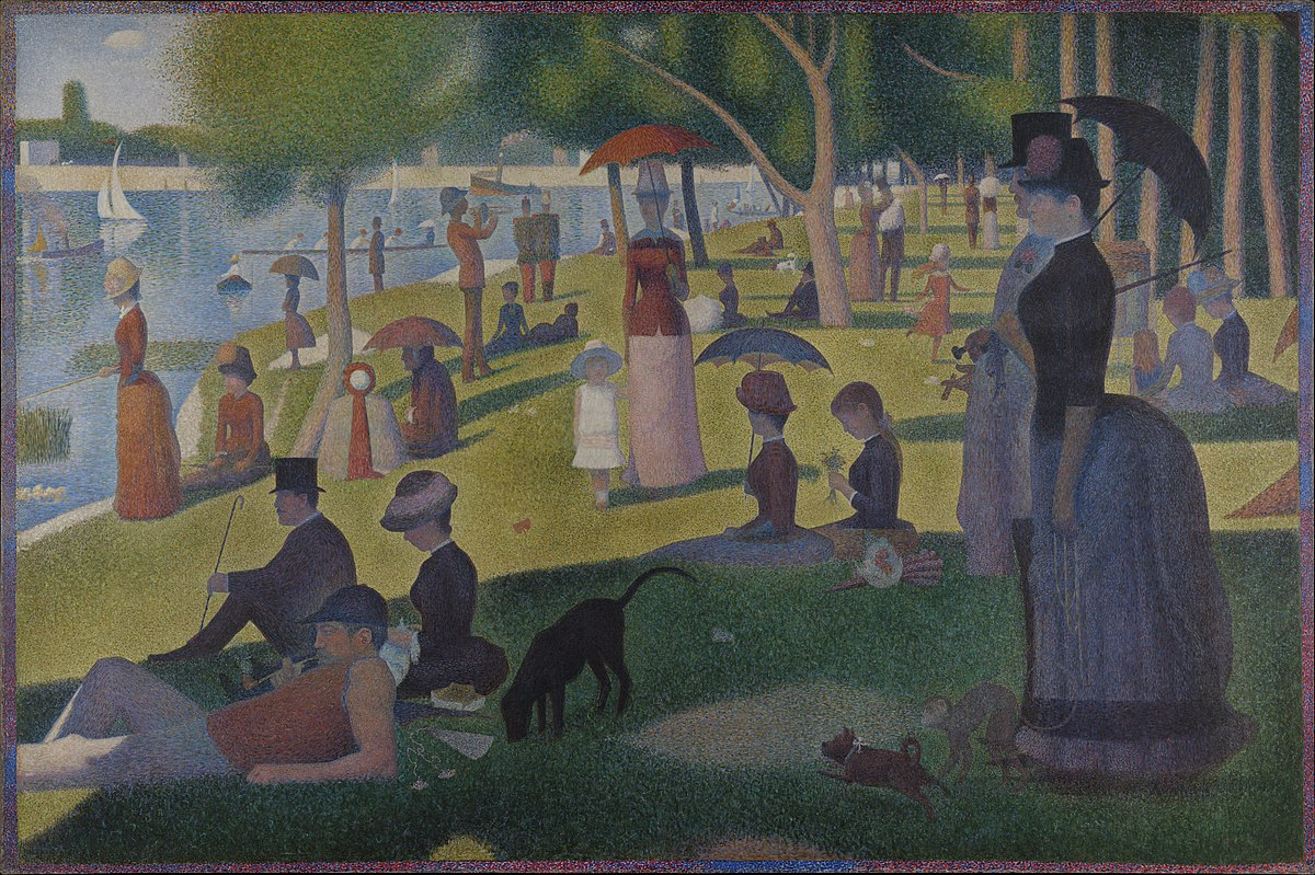 Georges Seurat - A Sunday on La Grande Jatte -- 1884 - Google Art Project.jpg