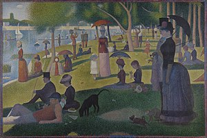 A Sunday Afternoon on the Island of La Grande Jatte - Image: Georges Seurat A Sunday on La Grande Jatte 1884 Google Art Project