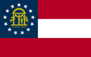 Delstatsflagg for Georgia