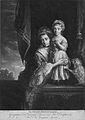 Georgiana Poyntz, Countess Spencer and her daughter Lady Georgiana Spencer.jpg