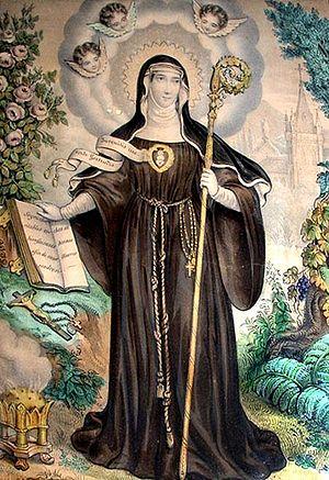 Gertrudis la Magna, Santa