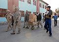 Ghazni PRT pays visit to Afghan girls school DVIDS333784.jpg
