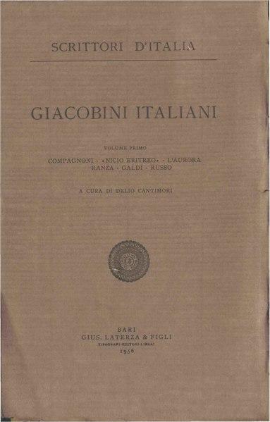 File:Giacobini italiani, Vol. I, 1956 – BEIC 1827558.pdf