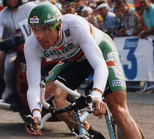 Chateau d'Ax (cycling team) - Gianni Bugno at the 1993 Tour de France