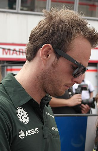 Giedo van der Garde - Van der Garde at the 2013 Monaco Grand Prix.