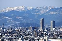 Gifu City Tower 43 and Gifu Sky Wing 37 from Twinarch138.jpg