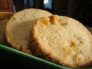 Sandie (cookie) type of sugar cookie; shortbread cookie