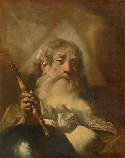 Giovanni Battista Piazzetta - God - The Father - O 3837 - Slovak National Gallery