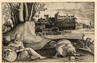 Giulio Campagnola - The Astrologer, so-called