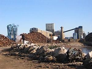 Gladstone Dock - Gladstone Dock in 2006