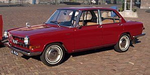 Glas 1700 - Image: Glas 1700 (1967), Dutch licence registration AL 90 04 pic 2