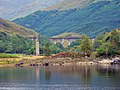 Glenfinnan Monument and Viaduct - geograph.org.uk - 1028686.jpg