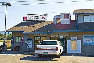 Glide, Oregon - Image: Glide Store