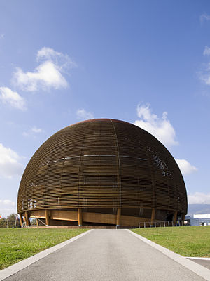 The Globe of Science and Innovation - Image: Globe of Science and Innovation, Cern