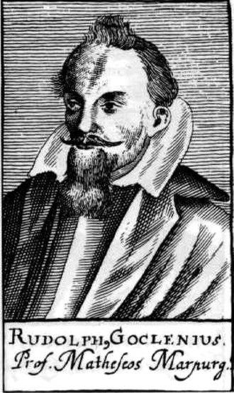 Rudolph Goclenius the Younger - Rudolf Goclenius, Jr.