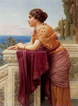 Godward-The Belvedere-1913