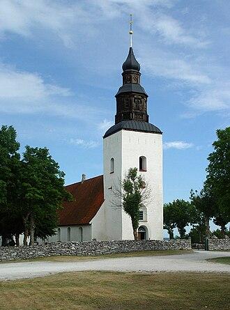 Fårö Church - Image: Gotland Fårö kyrka 01
