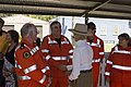 Governor-General of Australia, Quentin Bryce speaks with SES volunteers (4).jpg