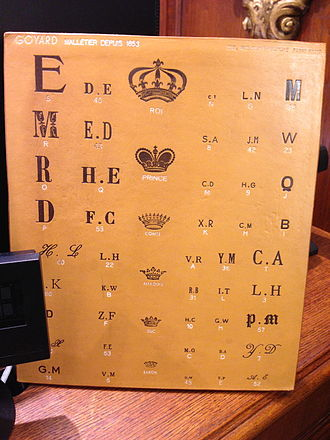 Goyard - Goyard crowns and fonts