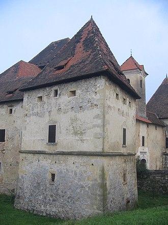 Gracar Turn - Image: Gracarjev turm stolp