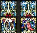 Gramastetten Pfarrkirche - Fenster III 6 Verkündigung.jpg