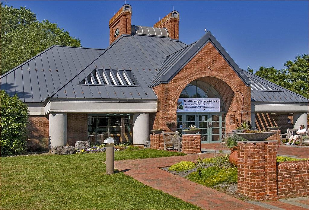 File Grand Opening Of The Korean Bell Garden Meadowlark Botanical Gardens Visitor Center