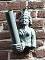 Grave - Kunstzinnige vlaggestokhouder in de Hamstraat.jpg